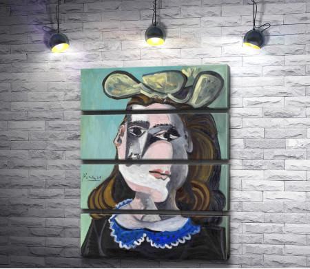 """Пабло Пикассо """"Kvinnan med blå krage"""""""