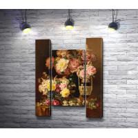 Поль Де Лонгпре - Цветочный натюрморт