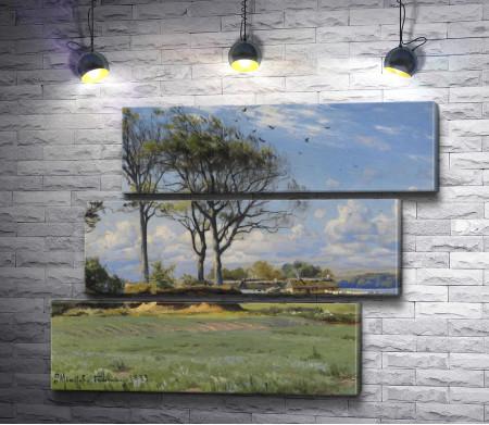 """Петер Морк Монстед """"Spring Landscape"""""""