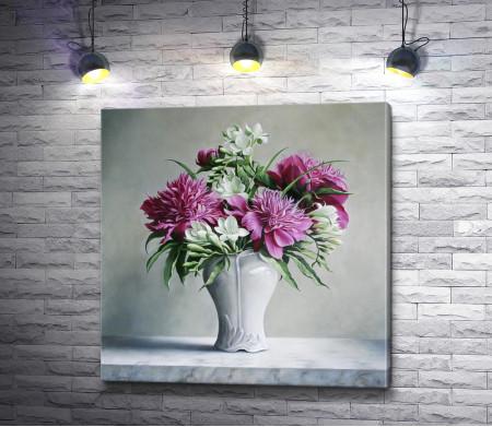 Питер Вагеманс - Цветы в вазе