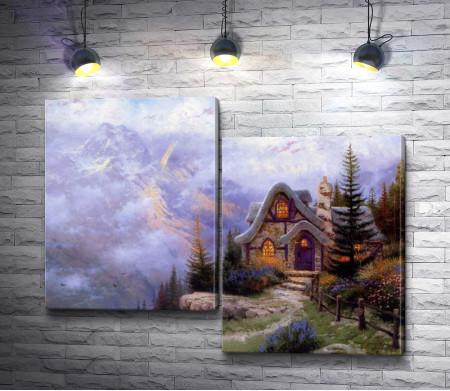 """Томас Кинкейд """"Sweetheart cottage III"""""""