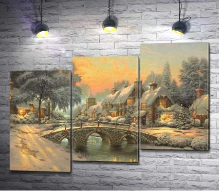 Томас Кинкейд - Cobblestone Christmas