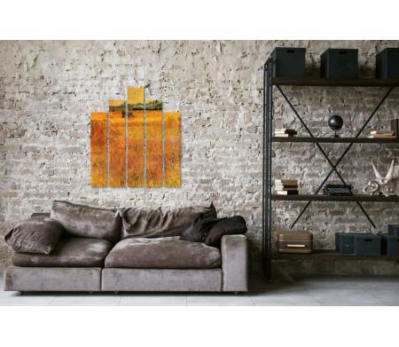 "Винсент Ван Гог ""Arles view from the wheat fields"""