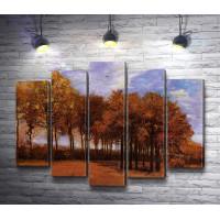 """Винсент ван Гог """"Осенний пейзаж"""""""