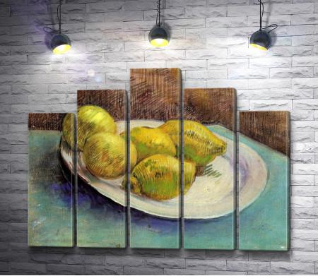 "Винсент Ван Гог ""Натюрморт с лимонами на тарелке"""