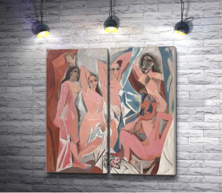 """Пабло Пикассо """"Авиньонские девицы"""""""