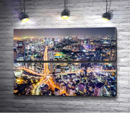 Японский мегаполис Токио