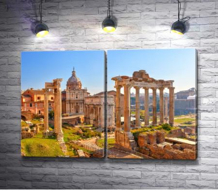 Римский форум, Рим, Италия