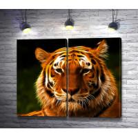 Амурский тигр 3D