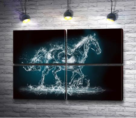 Лошадь из воды