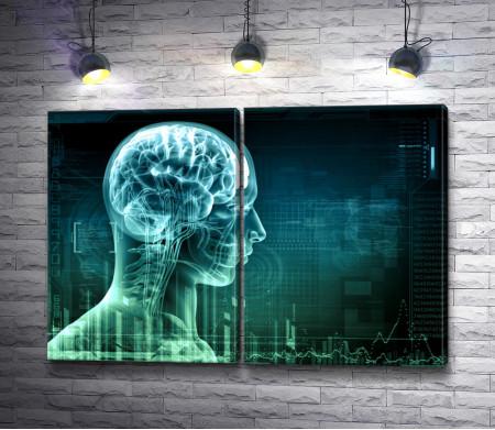 3D голограмма человека