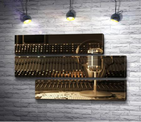 Микрофон с наушниками
