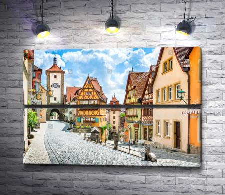 Историческая часть города Ротенбург-об-дер-Таубер, Германия