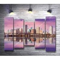 Панорама на город Майами, Флорида