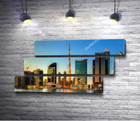 Вечерний Бизнес-Бэй, Дубай