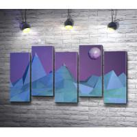 Полигональные горы