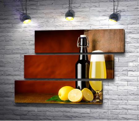 Пиво и лимоны