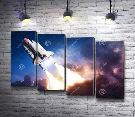 Полет космического шаттла