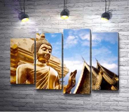 Золотая статуя Будды, Таиланд