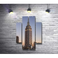 Вид на небоскреб, Нью-Йорк