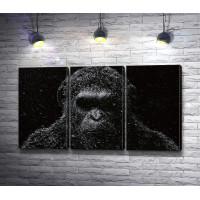 Текстурная обезьяна