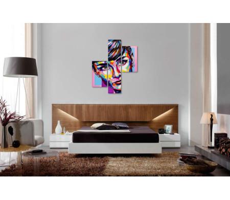 Арт-портрет Одри Хепбёрн
