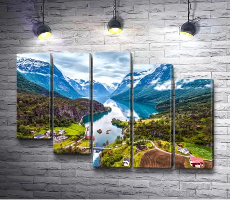 Красивая природа Норвегии