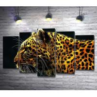 Невероятный леопард
