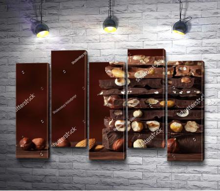 Шоколадки с орехами