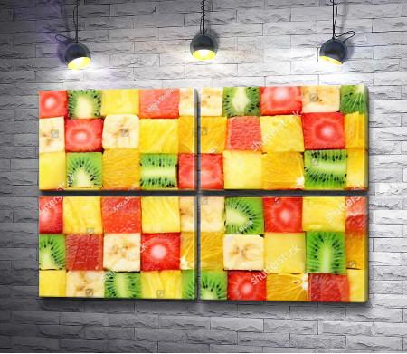Фруктовые кубики