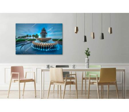 Знаменитый фонтан ананаса, Чарльстон, США
