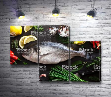 Рыба перед приготовлением