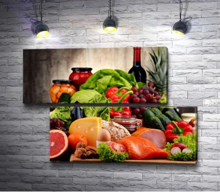 Натюрморт с продуктами