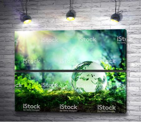 Прозрачный глобус