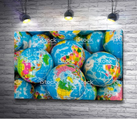Глобусы современного мира