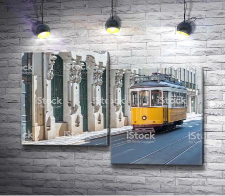Трамвай на улицах Европы