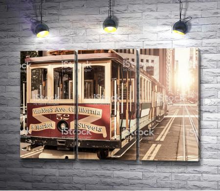 Ретро-трамвай 52
