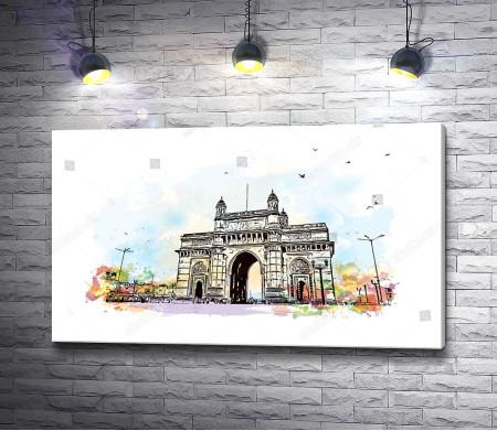Ворота в Индию в Мумбаи