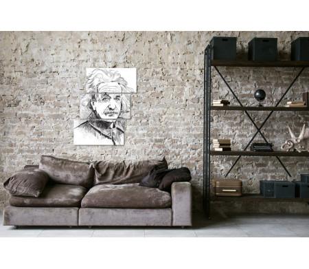 Альберт Эйнштейн, арт-работа