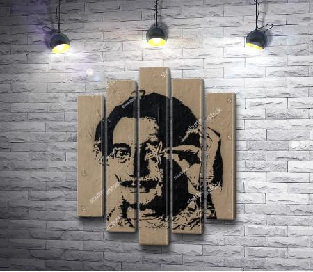 Сальвадор Дали, стрит-арт работа