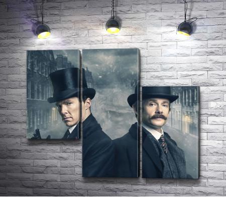 """Персонажи сериала """"Шерлок"""""""