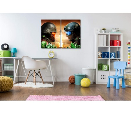 Противостояние войск. Постер игры Command & Conquer: Rivals