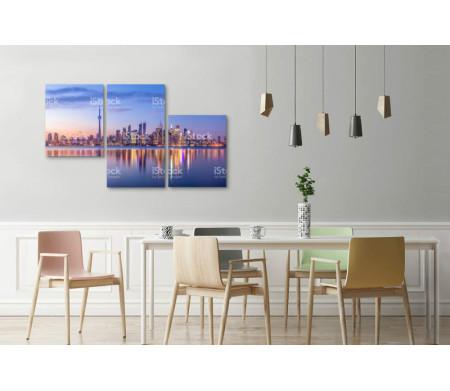 Панорамный вид на Торонто, Канада