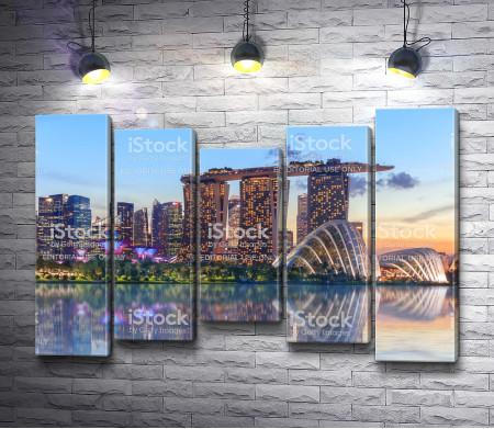 Гостиница  Марина-Бэй, Сингапур