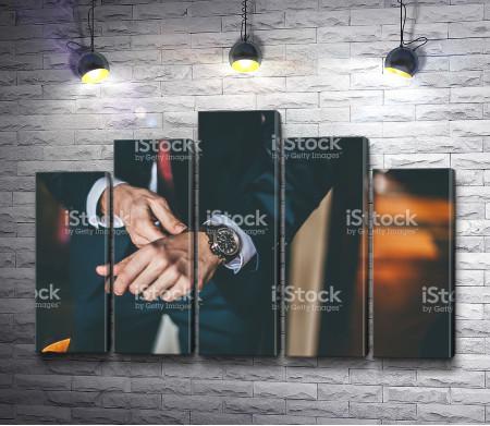Часы делового мужчины