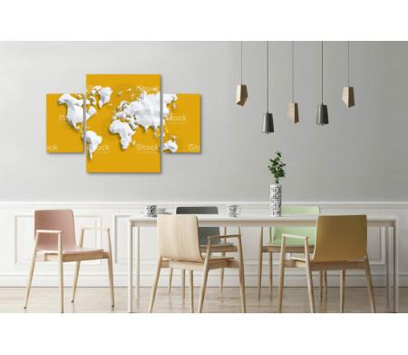 Геометрическая карта мира