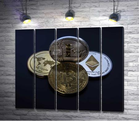 Монеты виртуальных валют