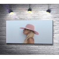 Леди Гага в шляпке