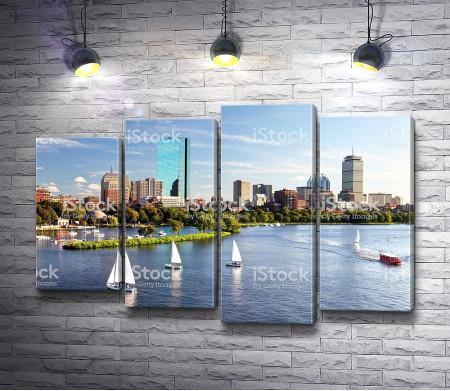 Летний Бостон, США