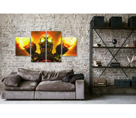Монстр из игры Doom